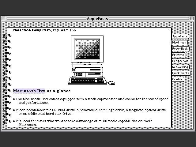 Apple Facts (1993)