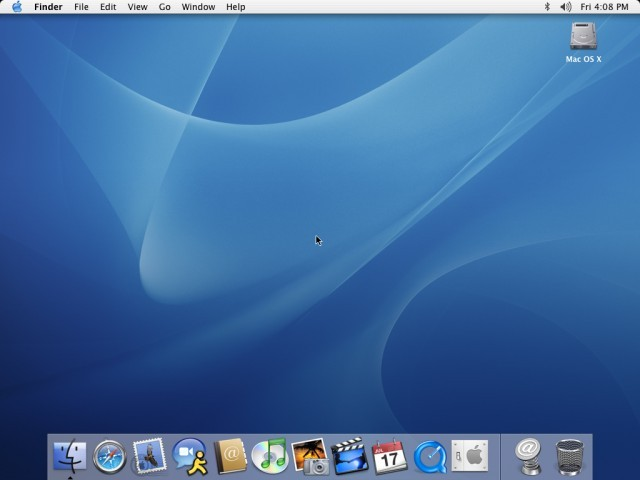 Developer Preview: Mac OS X Panther (2003)
