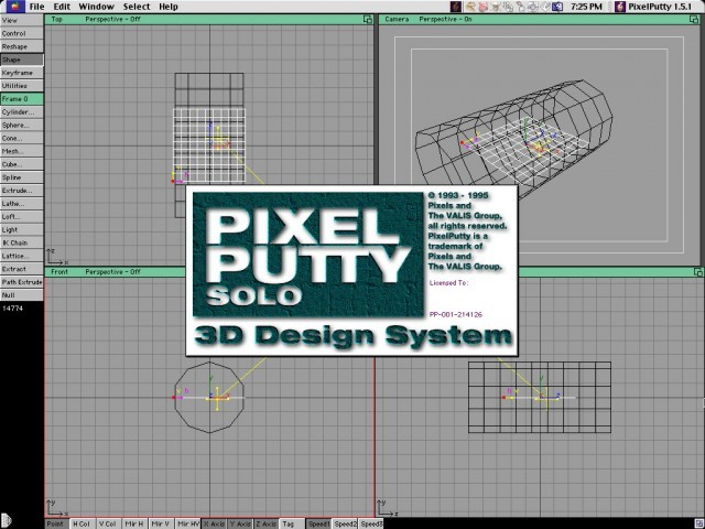 Pixel Putty (solo version) (1993)