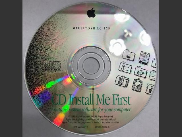 Macintosh LC 575. Install Me First. SSW v7.1 (CD) (1993)