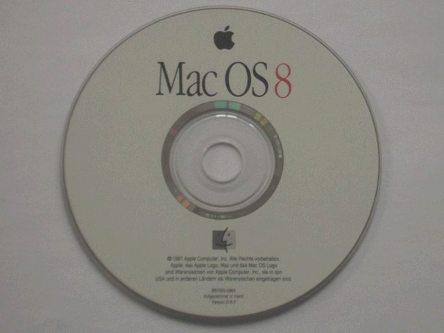 Mac OS 8 (German) (1997)