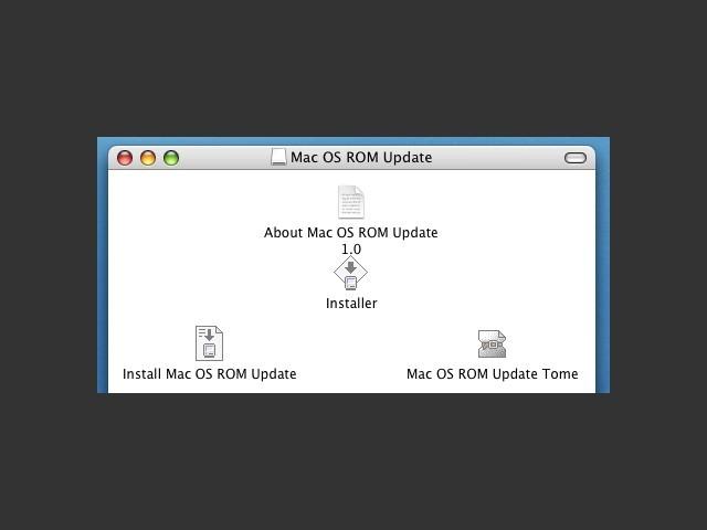 Mac OS 8.6 ROM Update 1.0 (1999)