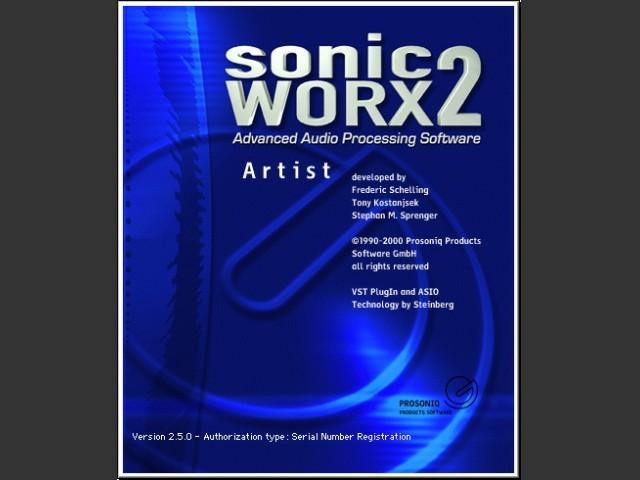 sonicWORX Artist 2.5 (2000)