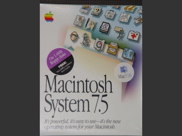 Mac os 7.5 Install Disks (1994)