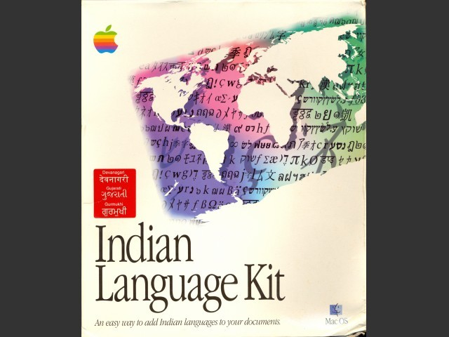 Indian Language Kit (1997)