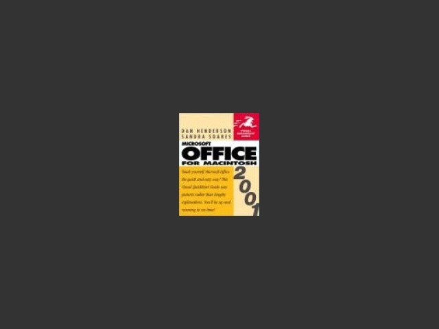 Microsoft Office 2001 for Macintosh