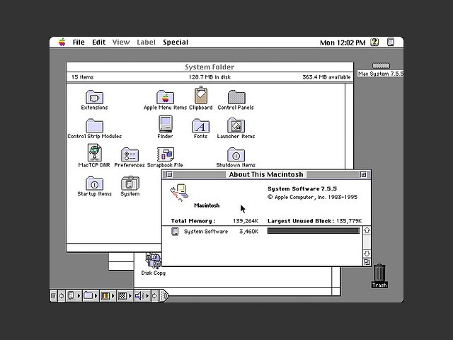 Apple macintosh system 7. 5. 3: apple: free download, borrow, and.
