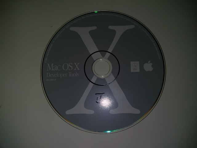 Developer Tools for Mac OS X 10.0 (2001)