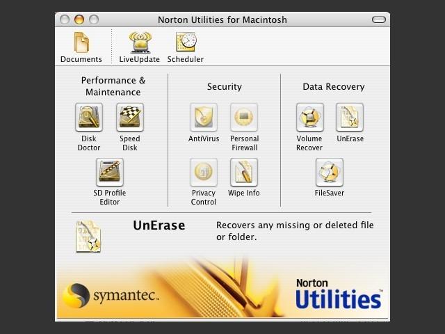 Norton Utilities 8 for Macintosh (2002)