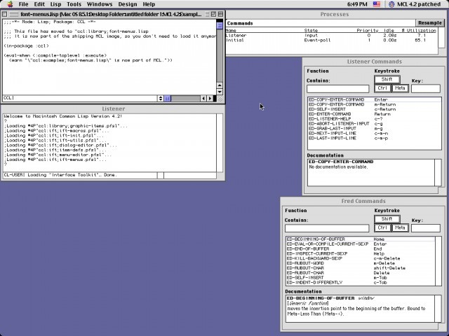 Macintosh Common Lisp 4.2 (1997)