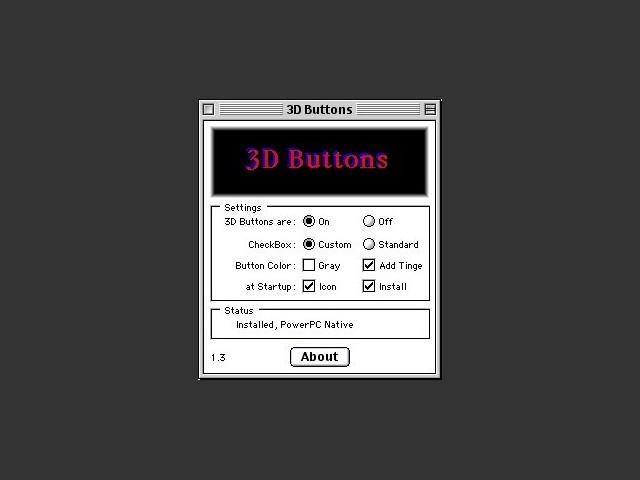 3D Buttons (1995)