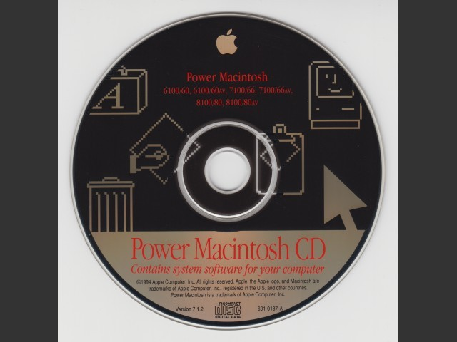 Mac OS 7.1.2 for Power Macintosh (1994)