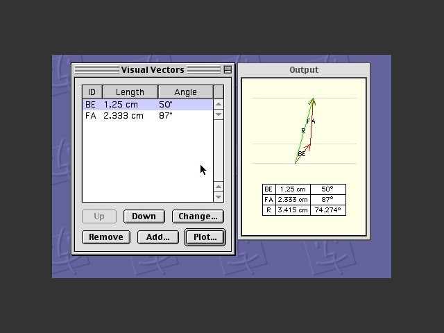 Visual Vectors (2002)
