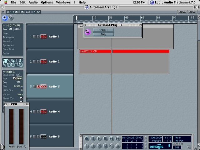 Logic Audio Platinum 4.7.0 (1999)