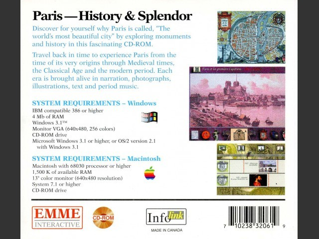 Paris-History & Splendor (1995)
