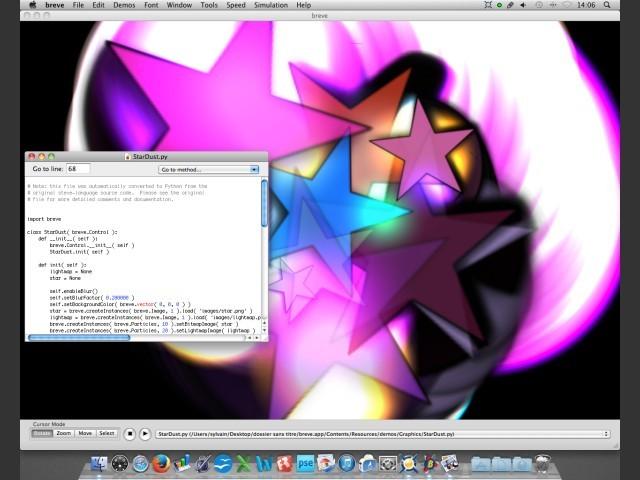 Breve Simulation Environment 2.7.2 (2008)