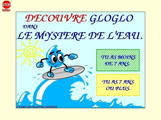 GloGlo dans le Mystère de l'Eau (DEMO) (1994)