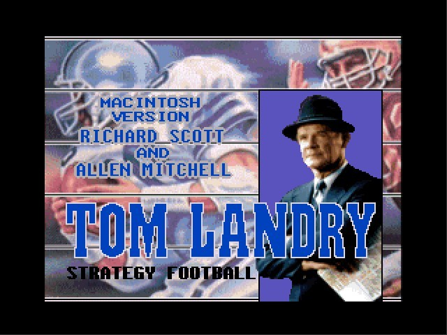 Tom Landry Strategy Football (1993)