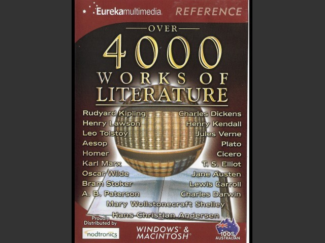 OVER 4000 WORKS OF LITERATURE (2002)