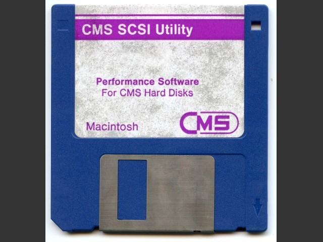 CMS SCSI Utility 5.4 (1988)