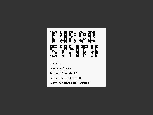 Turbosynth 2.x (1994)