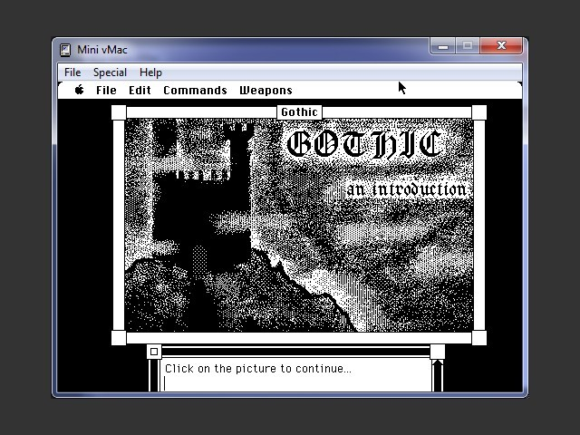 Introduction to Gothic