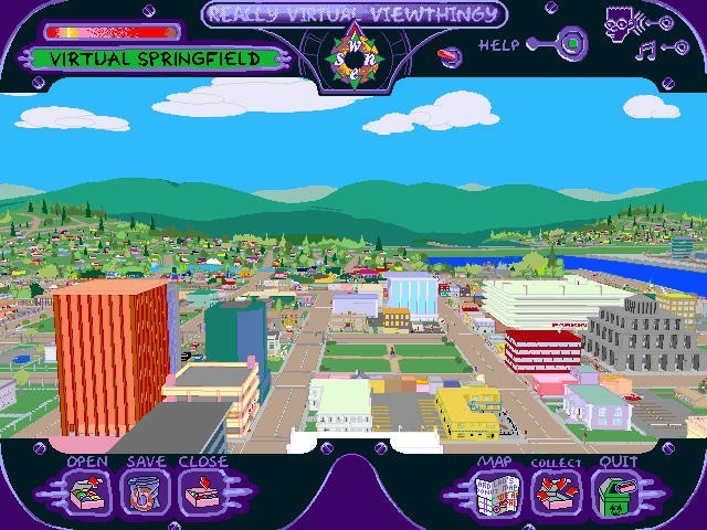 The Simpsons: Virtual Springfield (1997)