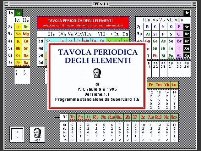 Tavola Periodica (1995)