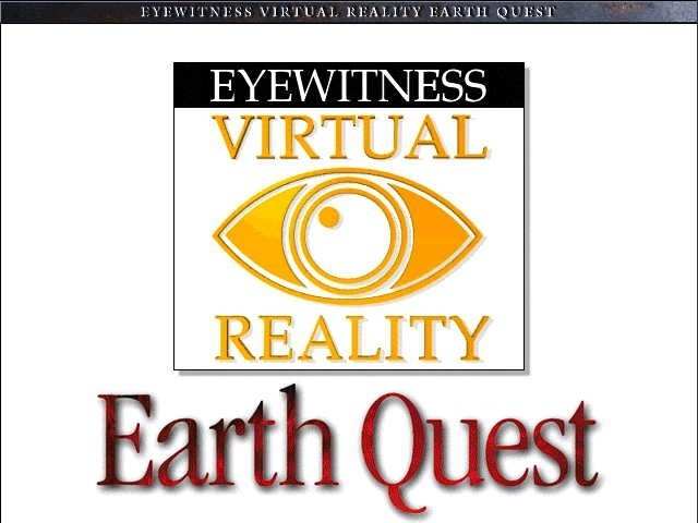 Eyewitness Virtual Reality: Earth Quest (1997)