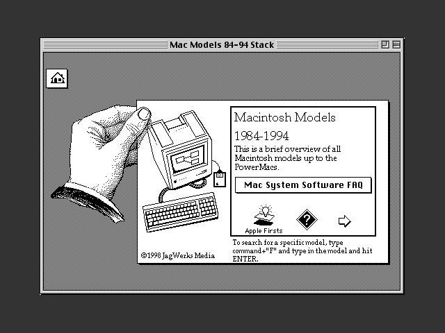 Mac Models 84-94 (1998)