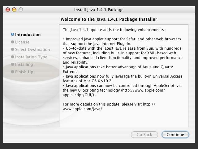 Java 1.4.1 (2003)