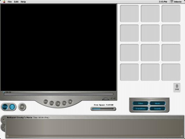 iMovie 1.x (1999)