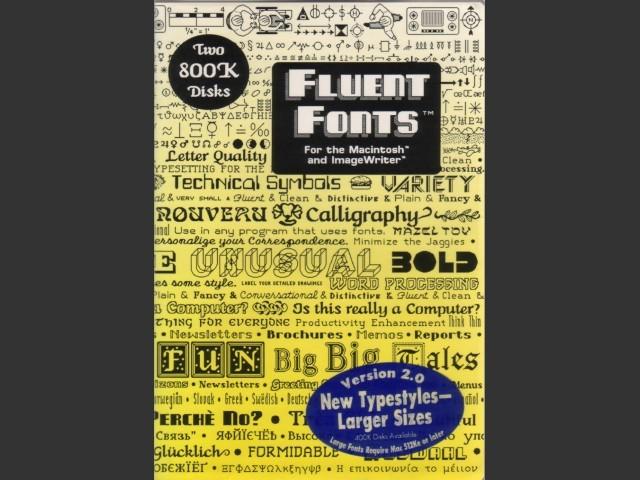 Fluent Fonts (1985)