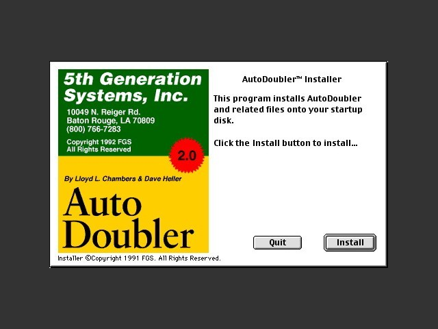 AutoDoubler 2.0 (1992)