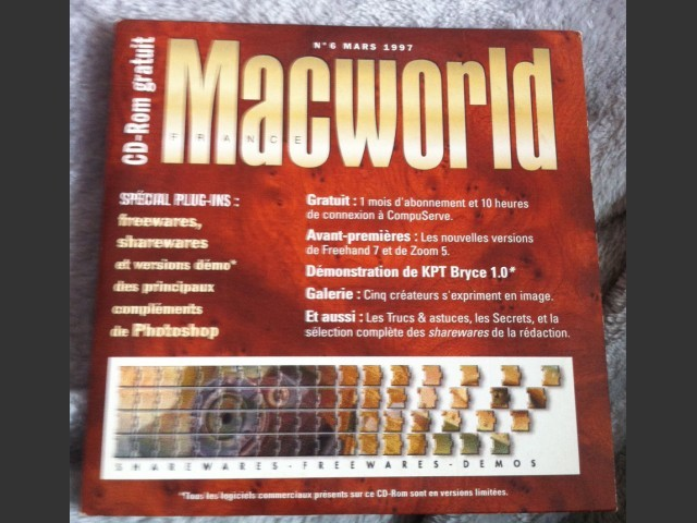 Macworld CR Rom de la revue (1997)