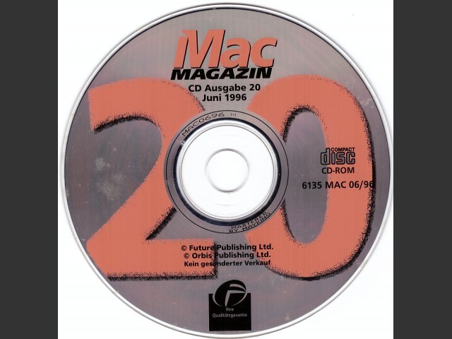 Mac Magazin 20 (1996)