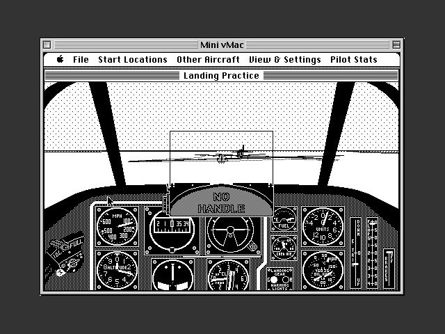 P51 Mustang Flight Simulator (1988)