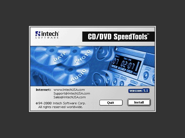 CD/DVD SpeedTools 5.1 (2000)