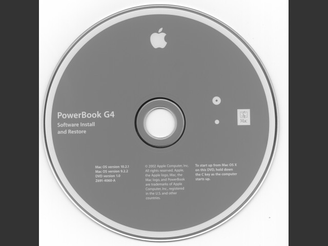 Stock Image of Recovery Disc 1 of 3