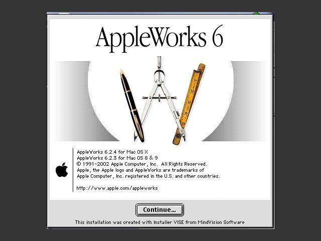 AppleWorks 6.x (2001)