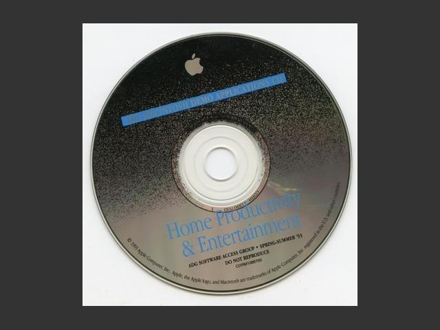 CDRM1086700,The Macintosh Demo Applications CD. Home Productivity & Entertainment. ADG... (1993)