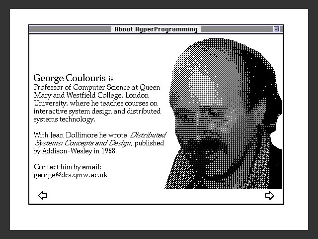HyperProgramming: Building Interactive Programs with HyperCard (1992)