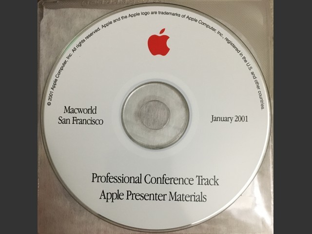 MacWorld San Francisco 2001 Presentations (2001)
