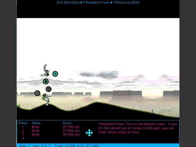 Dirt Bike gameplay