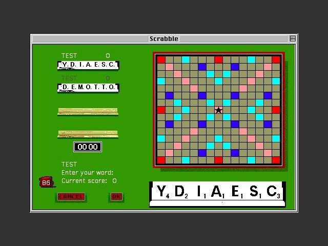 Scrabble Deluxe (1991)