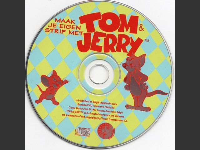Maak je eigen strip met Tom & Jerry (1997)