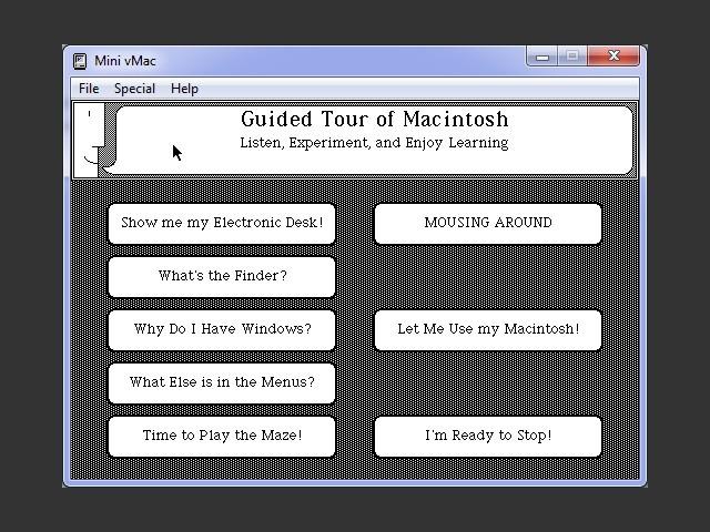 Mac OS 0.x (1.0 pre-release) (1984)