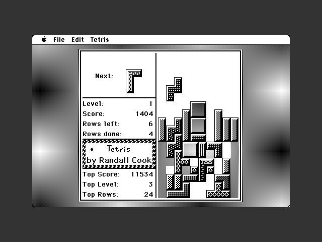 Wesleyan Tetris (1989)