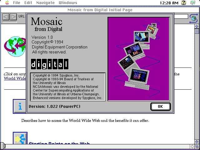 DEC Pathworks Macintosh client 1 (1995)