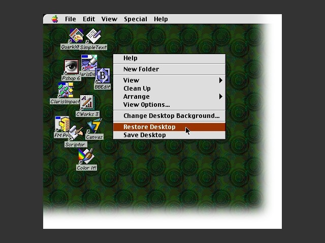 Restore Desktop (2003)